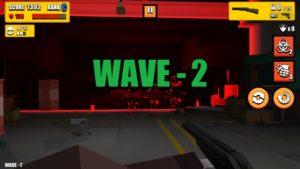 ゲームの戦闘画面