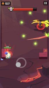 爆発トンボの近距離攻撃