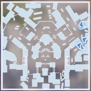 オールドタウンのマップ