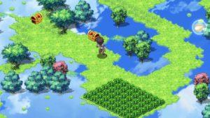 湖の宝箱の位置