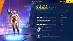 サラのヒーロー詳細