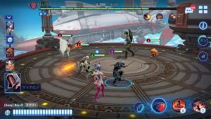 クリスタルボーンの戦闘画面