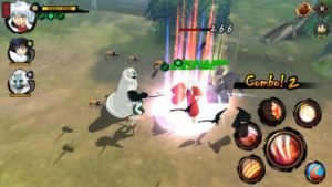 犬夜叉の戦闘画面